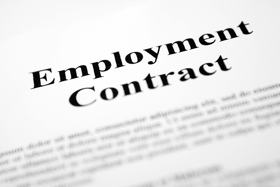 Employment Contracts  Clear And Convincing Evidence