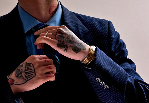 Tattoos in the workplace degree temporary companies for Tattoos in the workplace